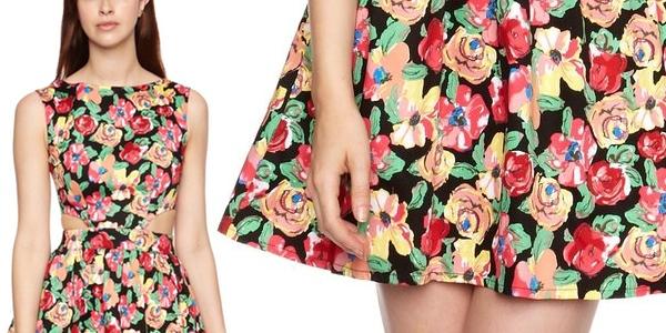 Vestido mujer barato Pop Art