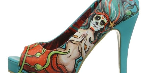 zapatos tacón Iron Fist