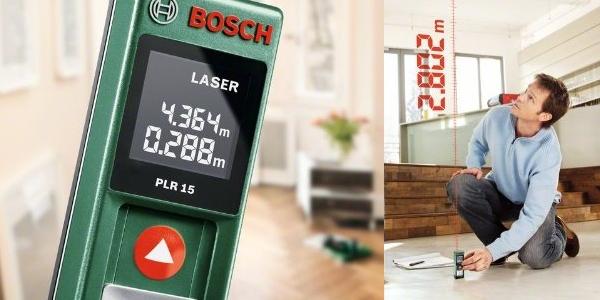 Metro l ser bosch plr 15 al mejor precio - Medidor laser bosch ...