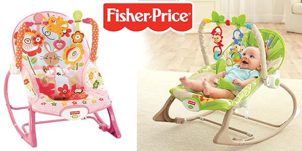 ea9c0b85d Chollo hamaca Fisher Price Crece Conmigo para bebé por sólo 57,59 ...