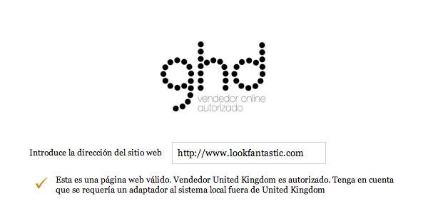 GHD Lookfantastic oficial