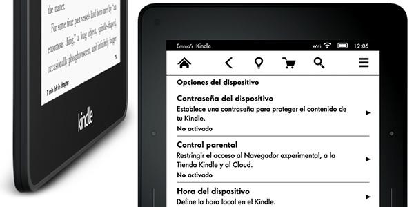 pantalla Kindle Voyage