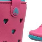 botas agua crocs niña