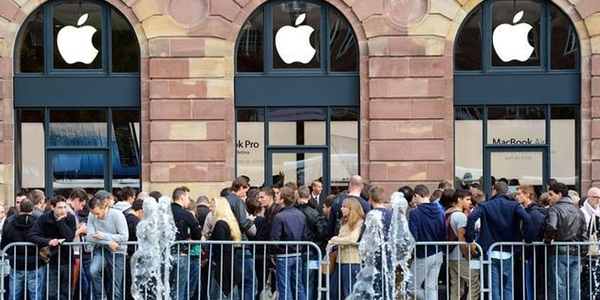 colas Apple Store iPhone 6
