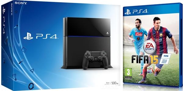 Pack PS4 FIFA 15 al mejor precio