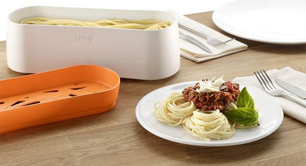 Pastacooker de lekue para cocinar pasta en el microondas - Hacer pasta en el microondas ...