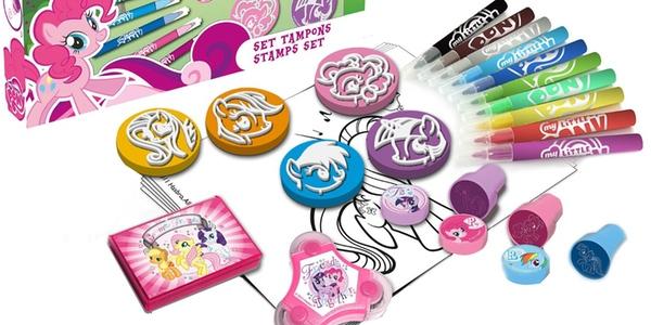 Juego rotuladores pequeño Pony