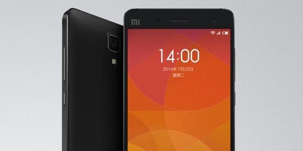 Diseño Xiaomi Mi 4