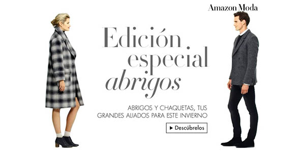 Abrigos baratos en Amazon