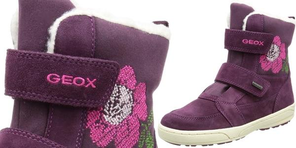 botas nieve Geox para niña