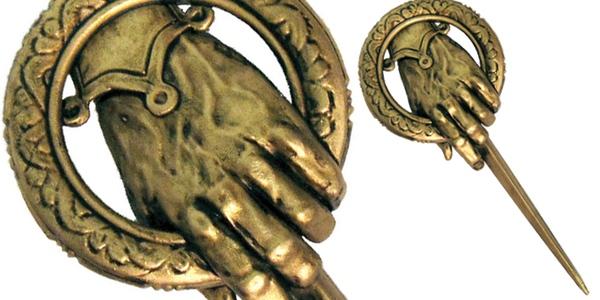 broche pin Mano del Rey