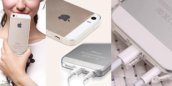 Funda de silicona para iphone 5 y 5s por 1 5 - Fundas de silicona para iphone 5 ...