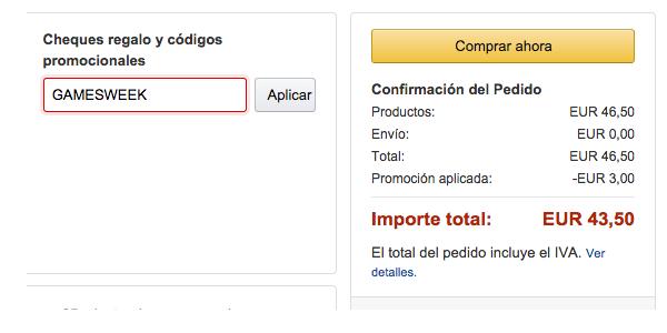 videojuegos baratos en Amazon.es