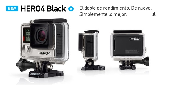 GoPro HERO4 Black barata