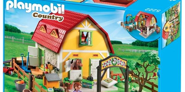 Oferta granja rancho de ponis de playmobil for La granja de playmobil precio