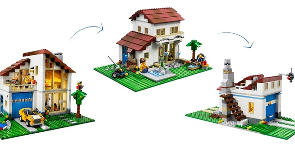 Chollo casa familiar de lego creator al mejor precio - Precio construir chalet ...