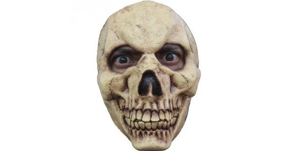 máscara Halloween calavera