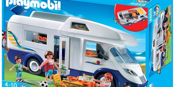 Oferta caravana de playmobil al mejor precio for Autocaravana playmobil
