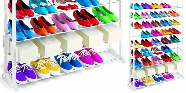 Chollo zapatero para 40 pares de zapatos a precio de risa for Zapateros baratos carrefour