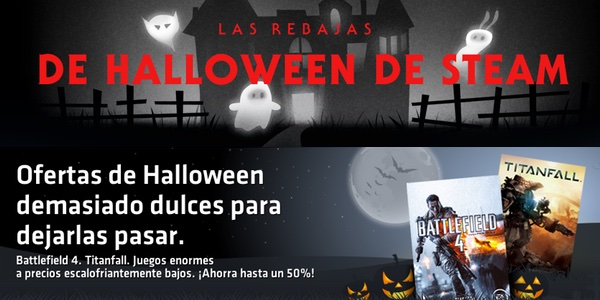 rebajas de Steam y Origin en Halloween