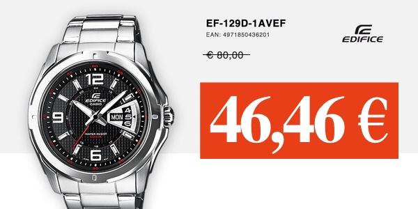 reloj Casio Edifice EF-129D-1AVEF