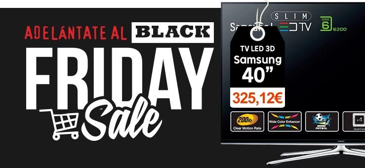 TV Samsung 40 pulgadas Black Friday