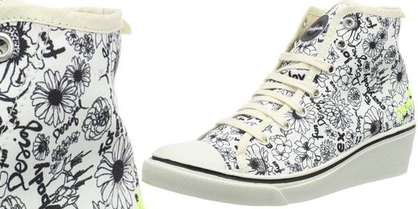 zapatillas Desigual estilo Converse baratas