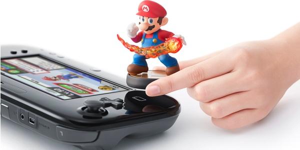 amiibo Super Mario gamepad Wii U