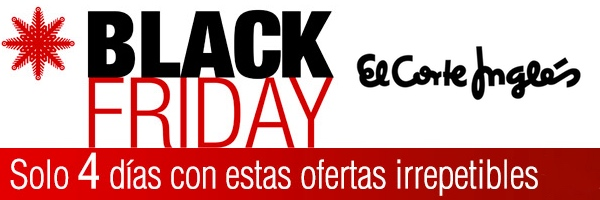 Black Friday 2014 El Corte Inglés
