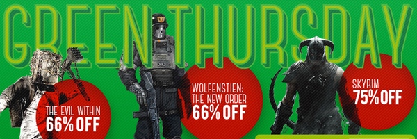 Black Friday 2014 Green Man Gaming