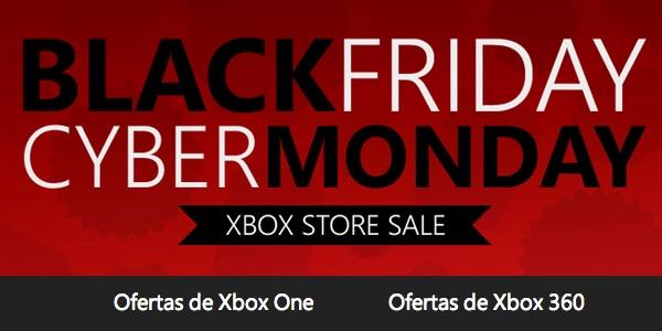 Black Friday y Cybermonday de Xbox Live