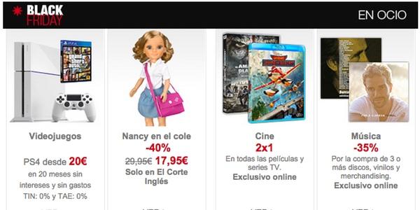 2x1 Blu-ray El Corte Inglés