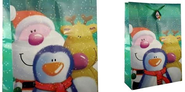bolsa para regalo de Navidad