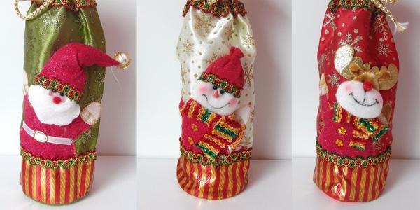 bolsas Navidad para botellas