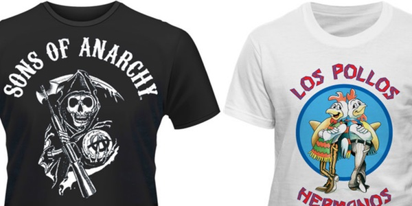 camisetas frikis baratas