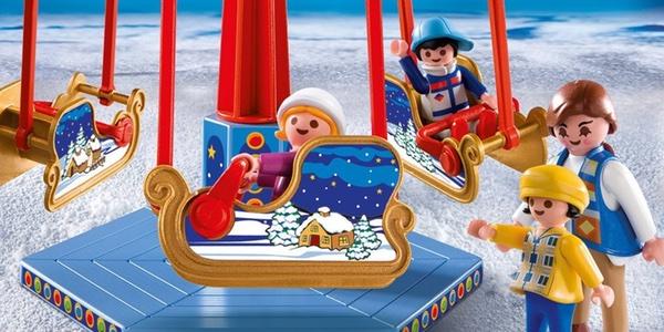 carrusel Playmobil Navidad