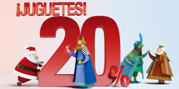 cheque regalo juguetes El Corte Inglés Navidad 2014