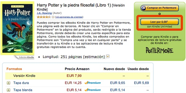 descargar ebook Harry Potter gratis