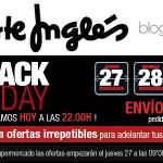 El Corte Inglés Black Friday 2014