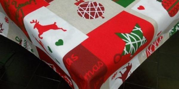 Manteles navide os por menos de 10 euros - Manteles navidenos ...