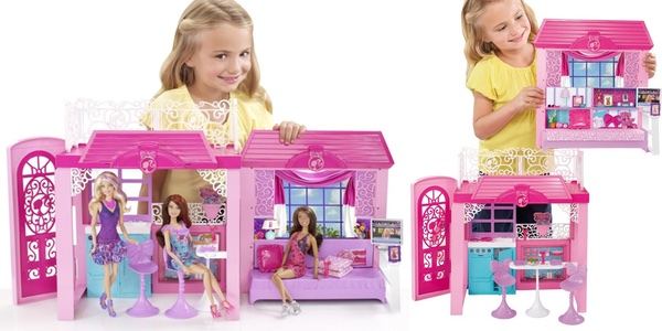 Chollo barbie casa de la playa al 40 en amazon - Supercasa de barbie ...