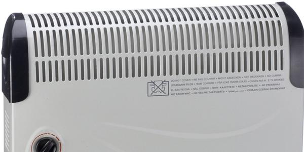 oferta calefactor convección Duracraft