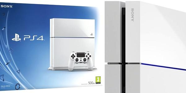 oferta PS4 blanca al mejor precio