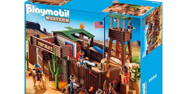 fuerte del Oeste de Playmobil barato