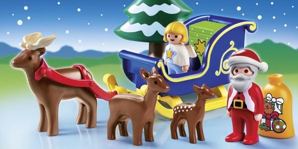 trineo Papa Noel Playmobil