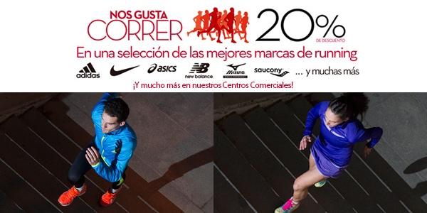 397960aff El corte ingles deportes aplica un 20% de descuento en running