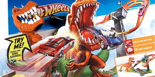 Pista Hot Wheels Ataque T-Rex