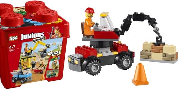 LEGO Juniors la obra