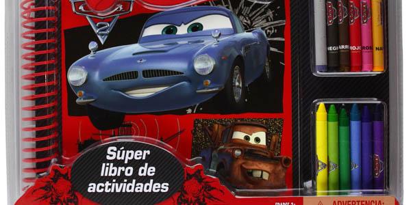 Libro actividades Cars