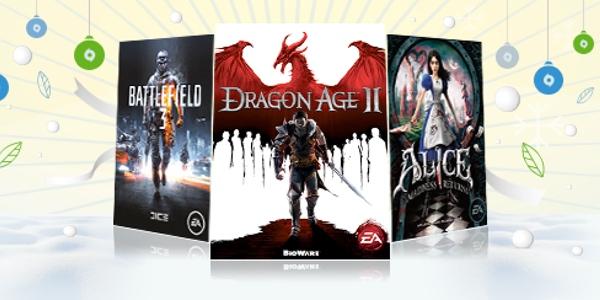 ofertas en juegos de Origin Navidad 2014